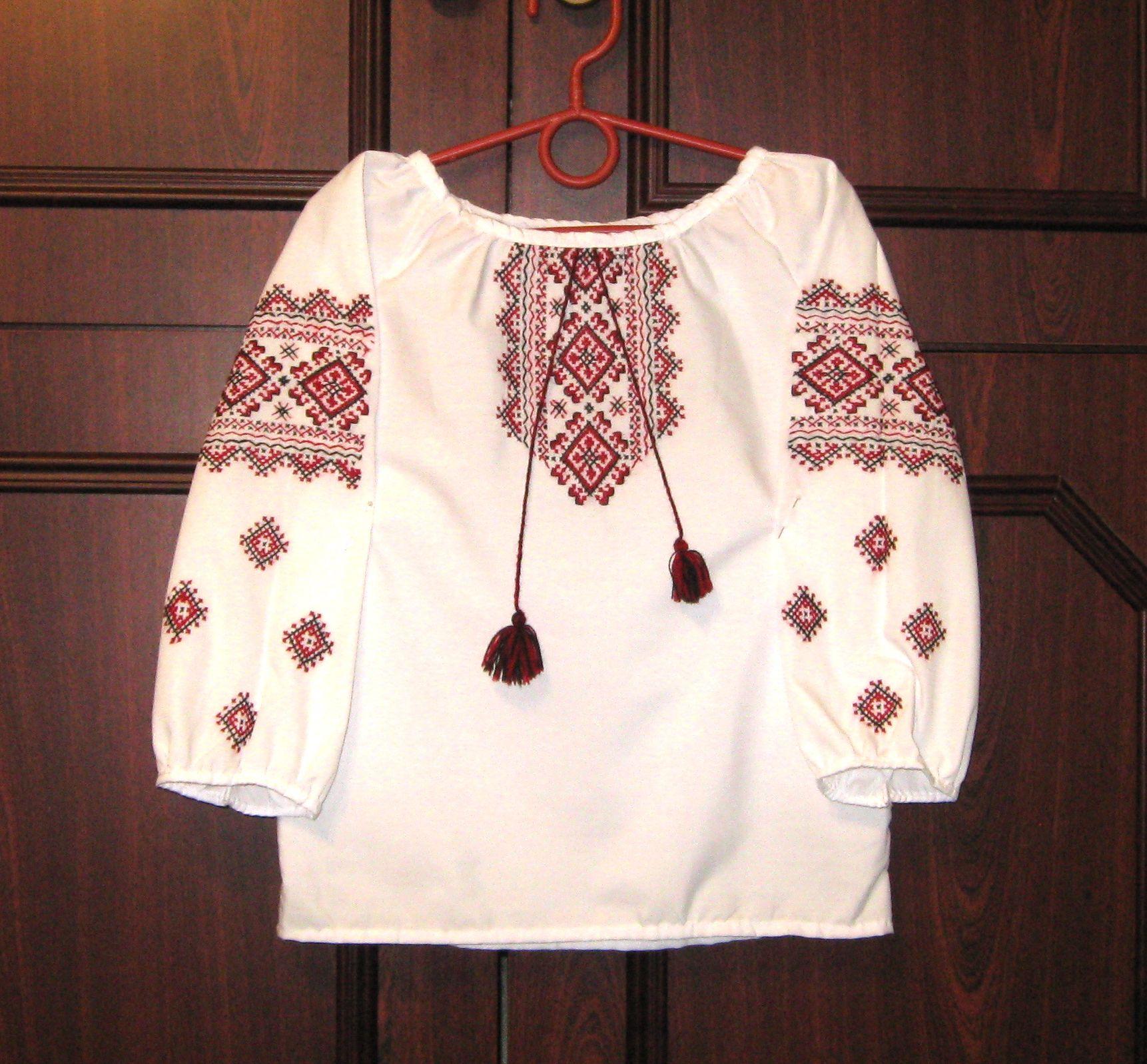 Вишита сорочка ручної роботи для маленької дівчинки дешево ціна ... 5dcafeacc3c90