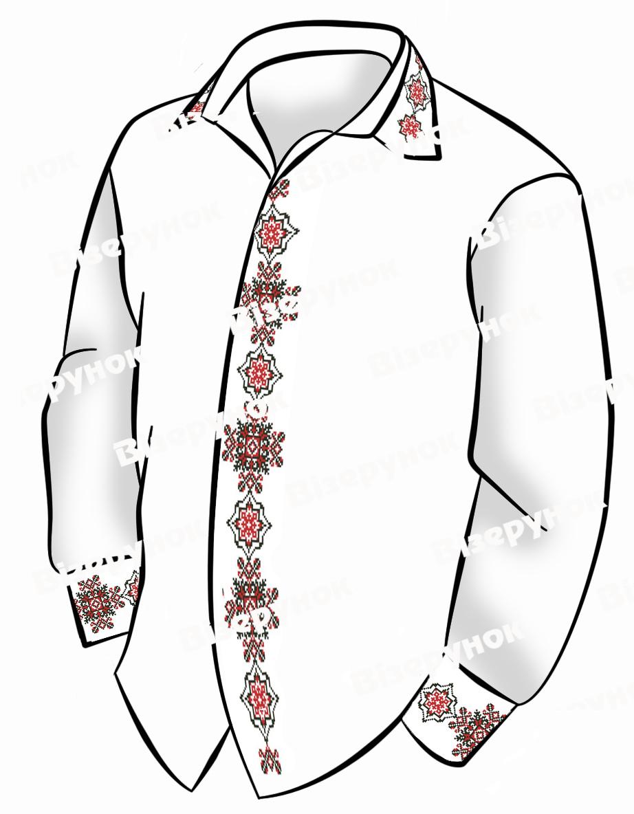 Заготовка для вишивки чоловічої сорочки ВЧ -52 - Товари - Схеми для ... 27faee44e09e0