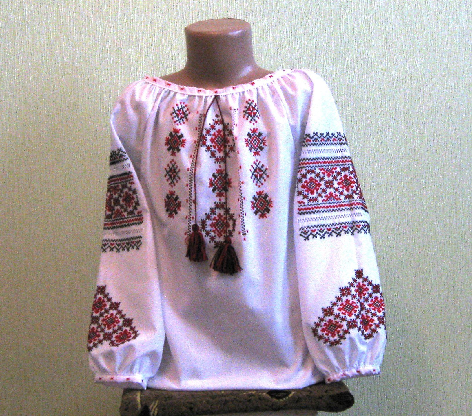 Вишиванка ручної роботи для дівчинки недорого ціна 155c6a79ed503