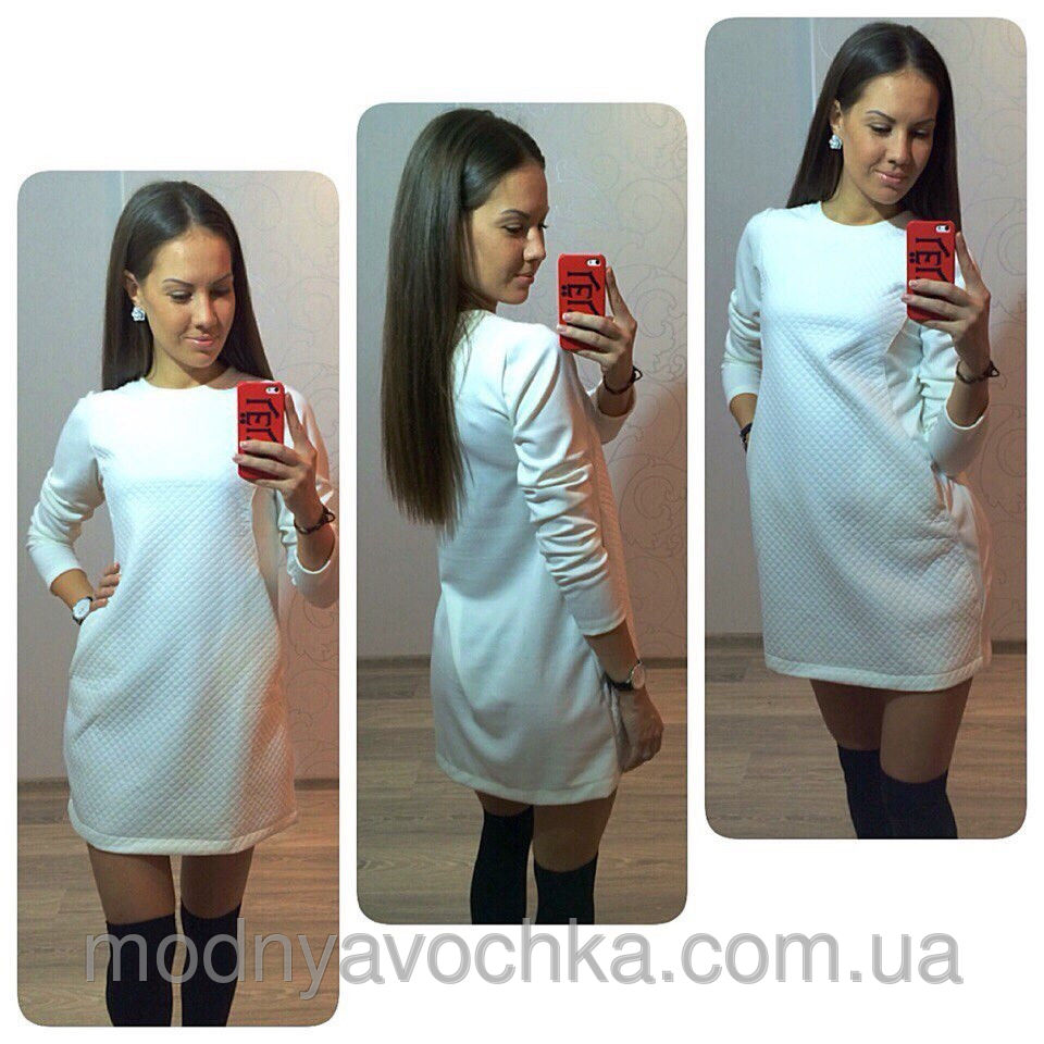 Біле сукня-туніка - Товари - Інтернет-магазин