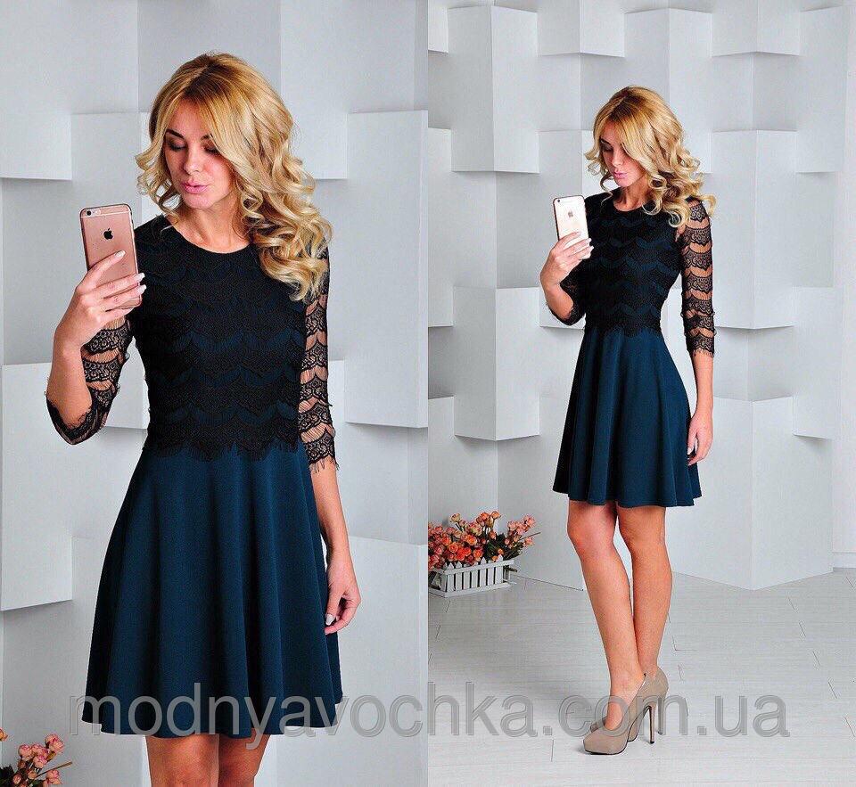 Нарядна сукня з мереживом - Товари - Інтернет-магазин