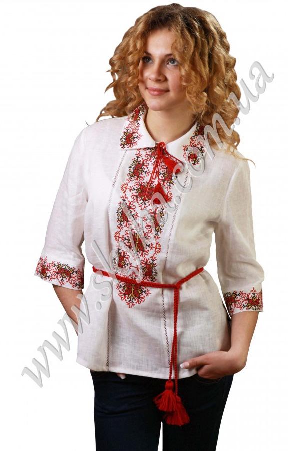 Жіноча вишита блуза СК2081 5b873a71f68a1
