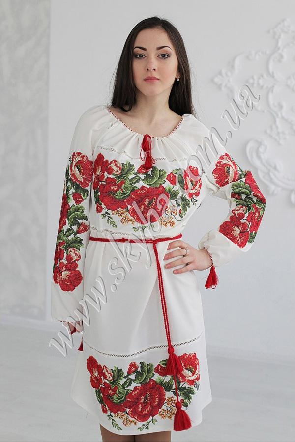 Платья С Украинской Вышивкой Фото