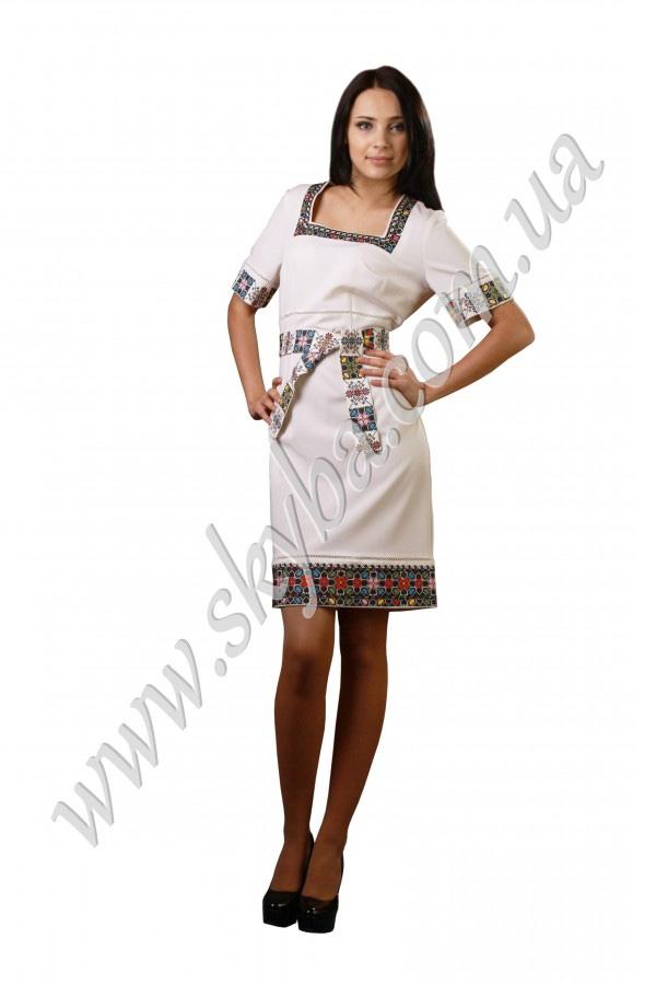 Вишиванка - жіноча сукня СК6032 з геометричними малюнками - Товари ... bfef5dac4d818