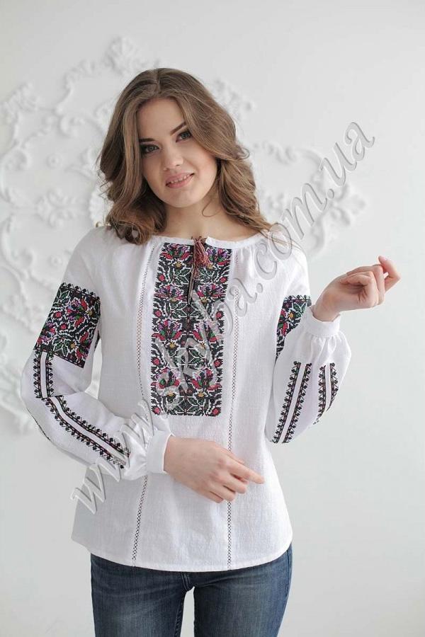 Жіноча вишита блуза СК2391 f420c20b10871