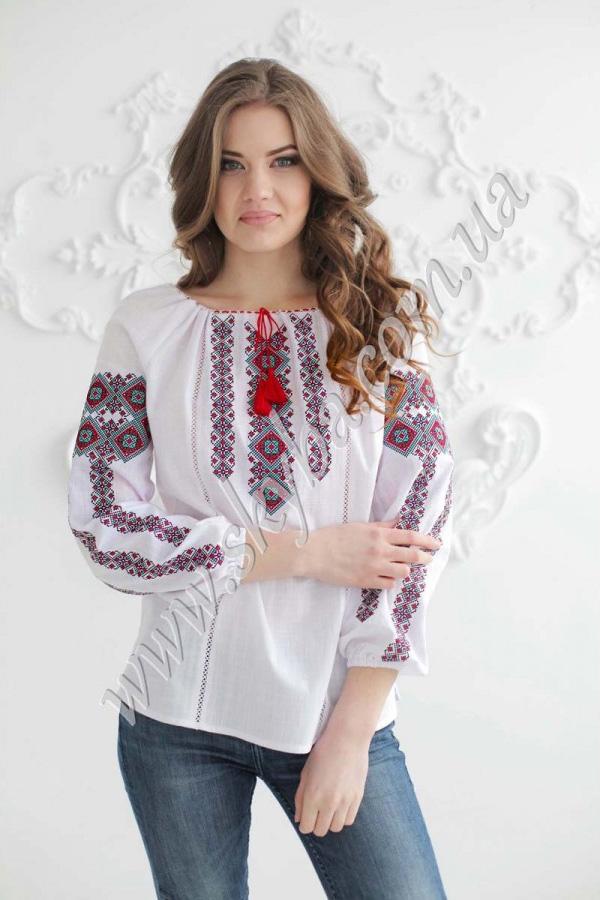 Жіноча вишита блуза СК2411 12d4c5053cd27