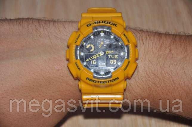 Спортивний чоловічий годинник Casio G - Shock (Касио Джи Шок) -  чорно-червоні 19c1bbada8ecf