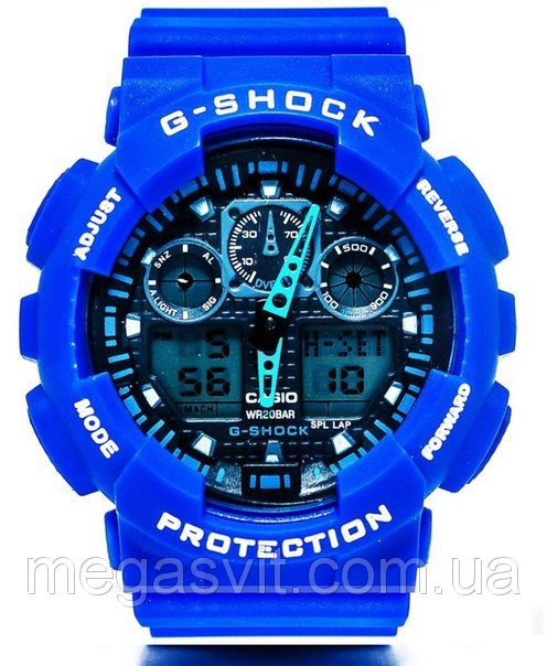 Наручний чоловічий годинник Casio G - Shock (Касио Джи Шок) - сині ... cb45b44c75096