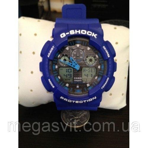 Casio G - Shock синій годинник на руку ціна ba40bc775c66b