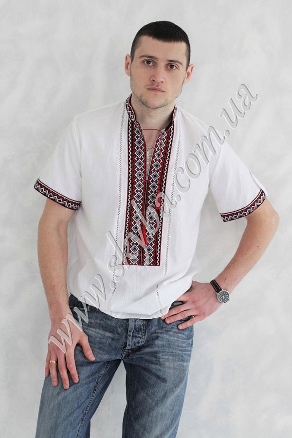 Чоловіча вишита сорочка СК1231кр de8bd3a9c7323
