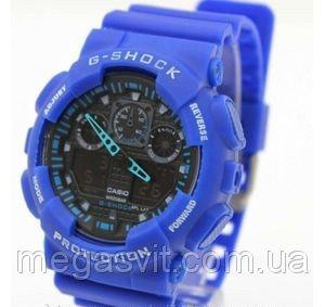 Чоловічий годинник Casio G - Shock (Касио Джи Шок) - сині ціна ... 0e664263ccedc