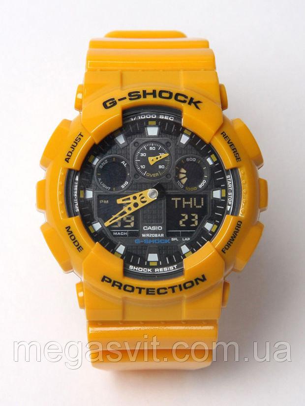 Спортивний наручний годинник Casio G - Shock жовтий колір ціна ... 2c2b60de2b469