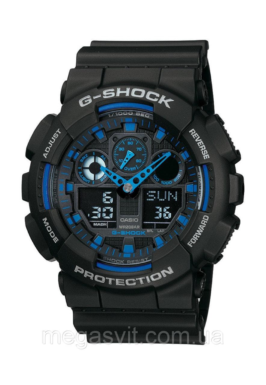 Чоловічий годинник Casio G - Shock (Касио Джи Шок) - чорно-сині. loading...  Наведіть курсор fd2bd028cc0f3