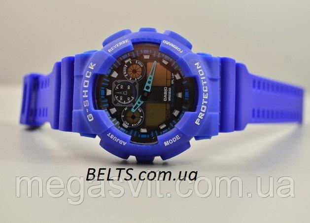 Наручний годинник Casio G - Shock (Касио Джи Шок) - сині ціна ... a52b7d0ec7dfb