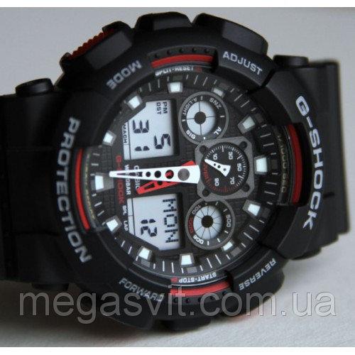 Годинник Casio G - Shock (Касио Джи Шок) - чорно-червоні ціна ... 803357fa4bd76