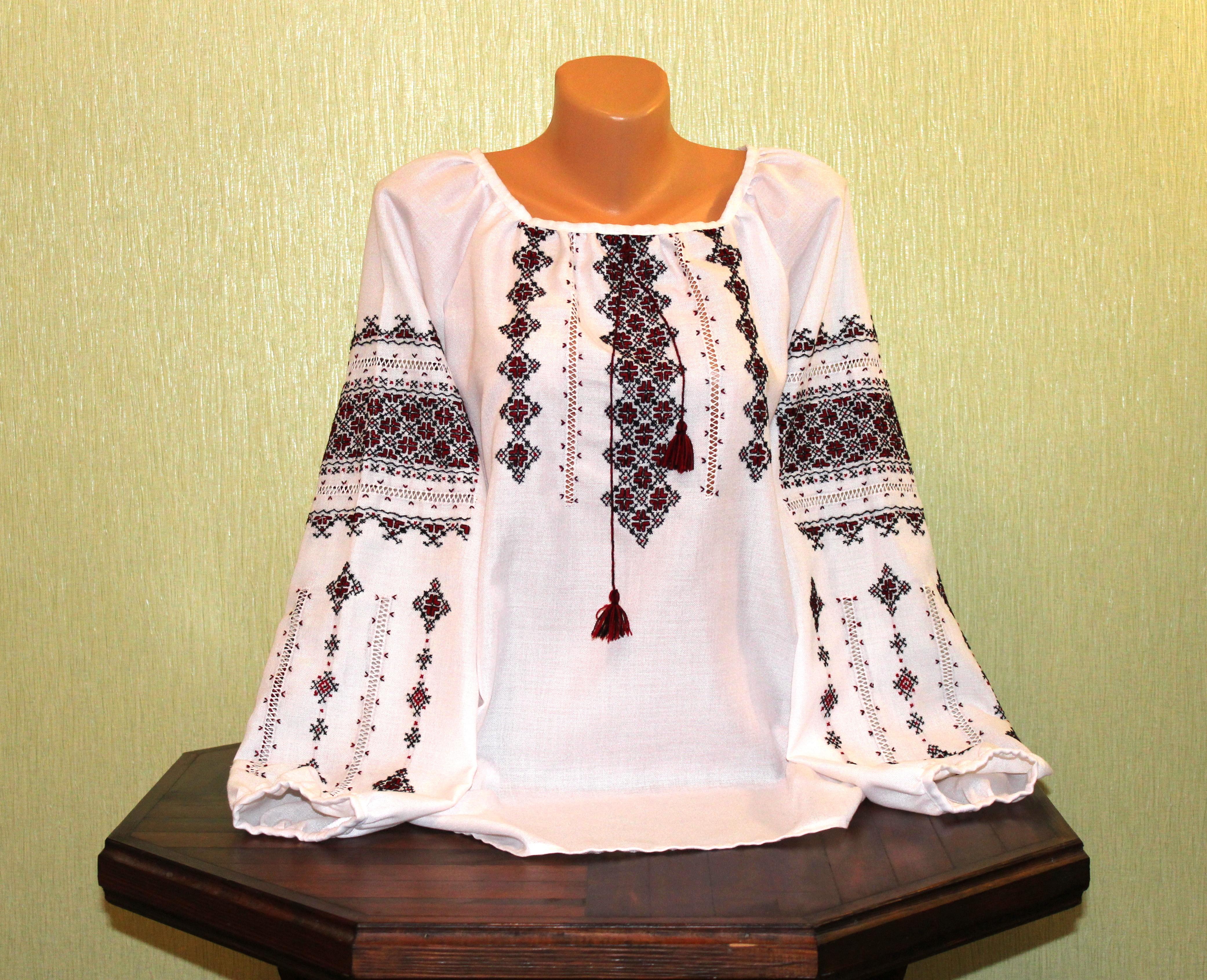 Сорочка-вишиванка жіноча ручної роботи ціна ec05574ed6e17
