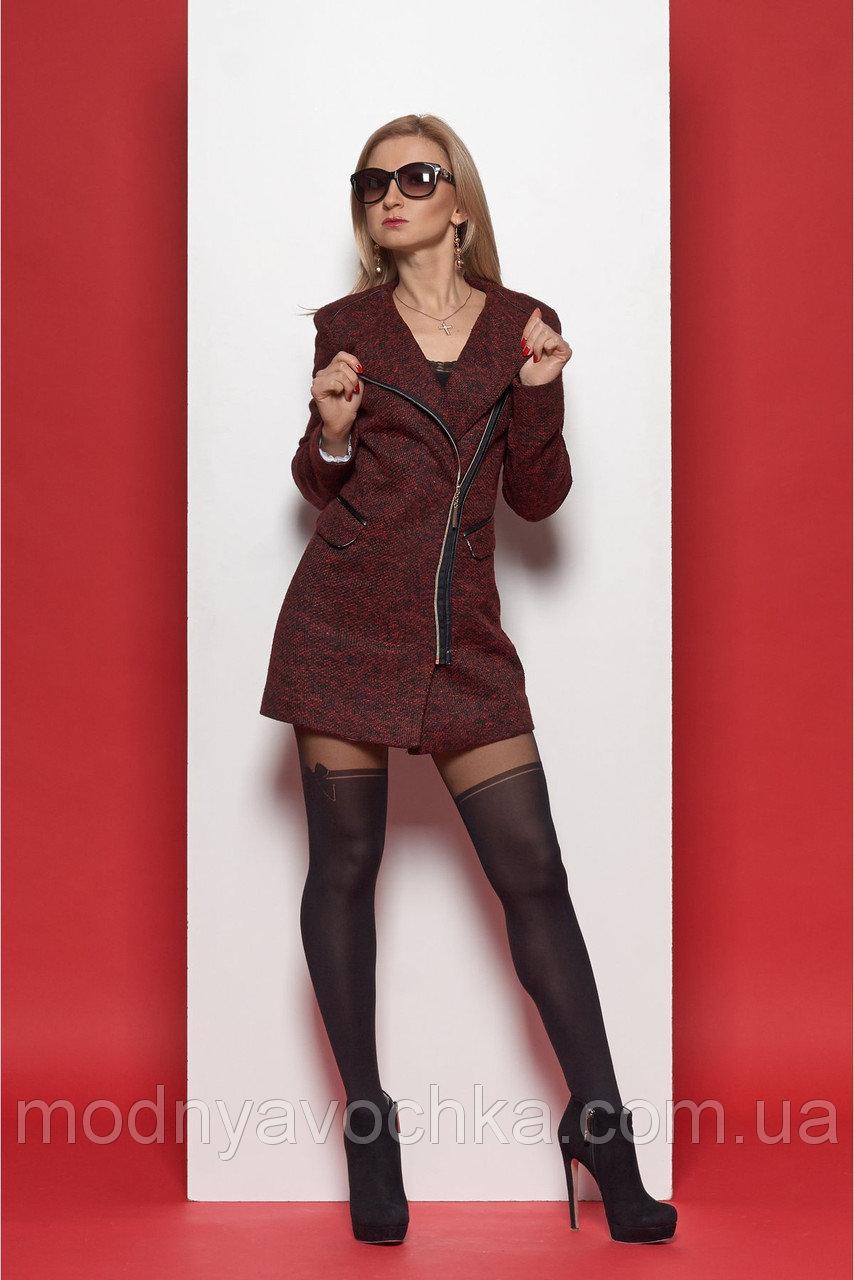 Жіночий кардіган з кишенями з тканини букле - Товари - Інтернет ... a7a2d9a34742f