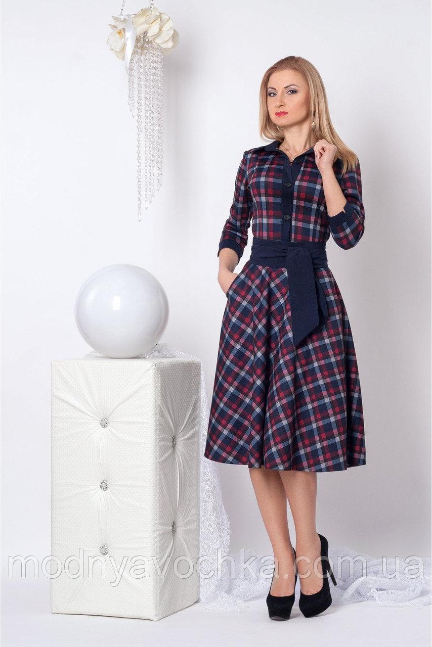 Жіноча сукня в клітину миди довжини - Товари - Інтернет-магазин ... 7f1aff6890bce