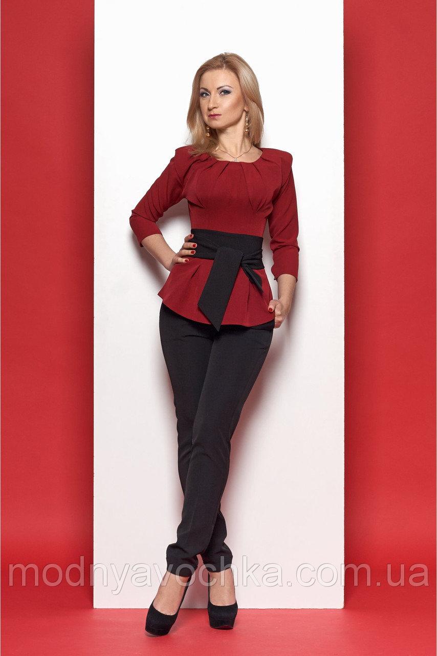 Брючний жіночий костюм строгого фасону - Товари - Інтернет-магазин ... d8cd35149b11d
