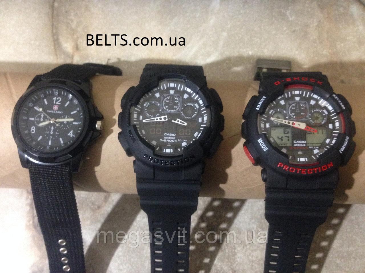 Спортивний чоловічий годинник Casio G - Shock - чорно-червоні ціна ... ac7f65b2a12ab