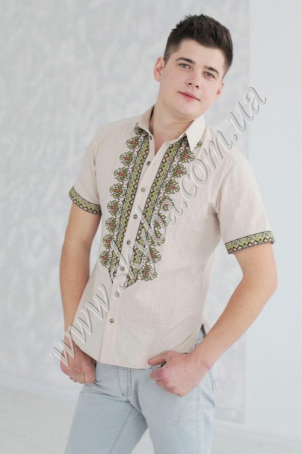 Чоловіча вишита сорочка СК1371 baa50c59bb8aa