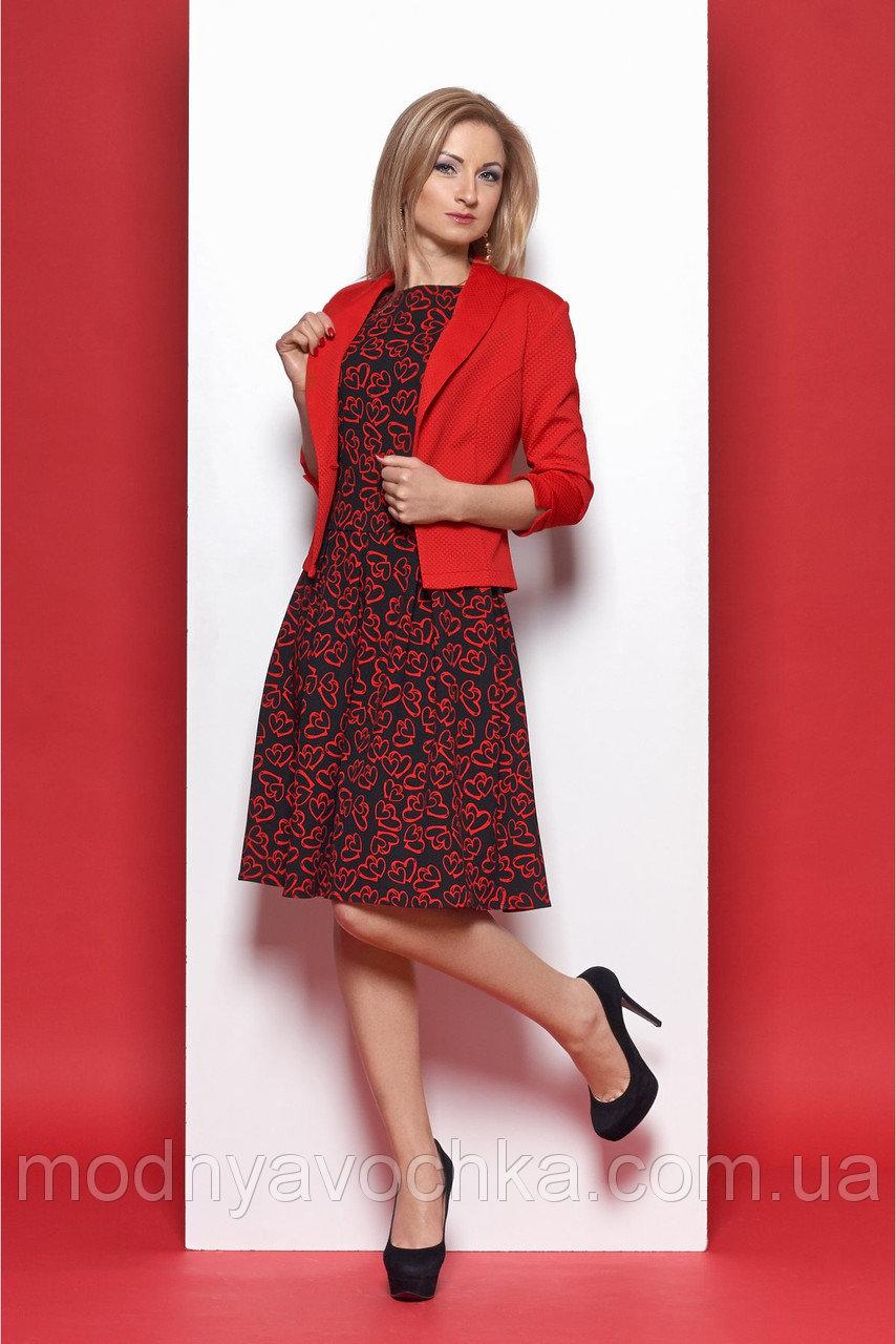 Стильний костюм-двійка сукня і піджак - Товари - Інтернет-магазин ... 09c5f0fa25ef4
