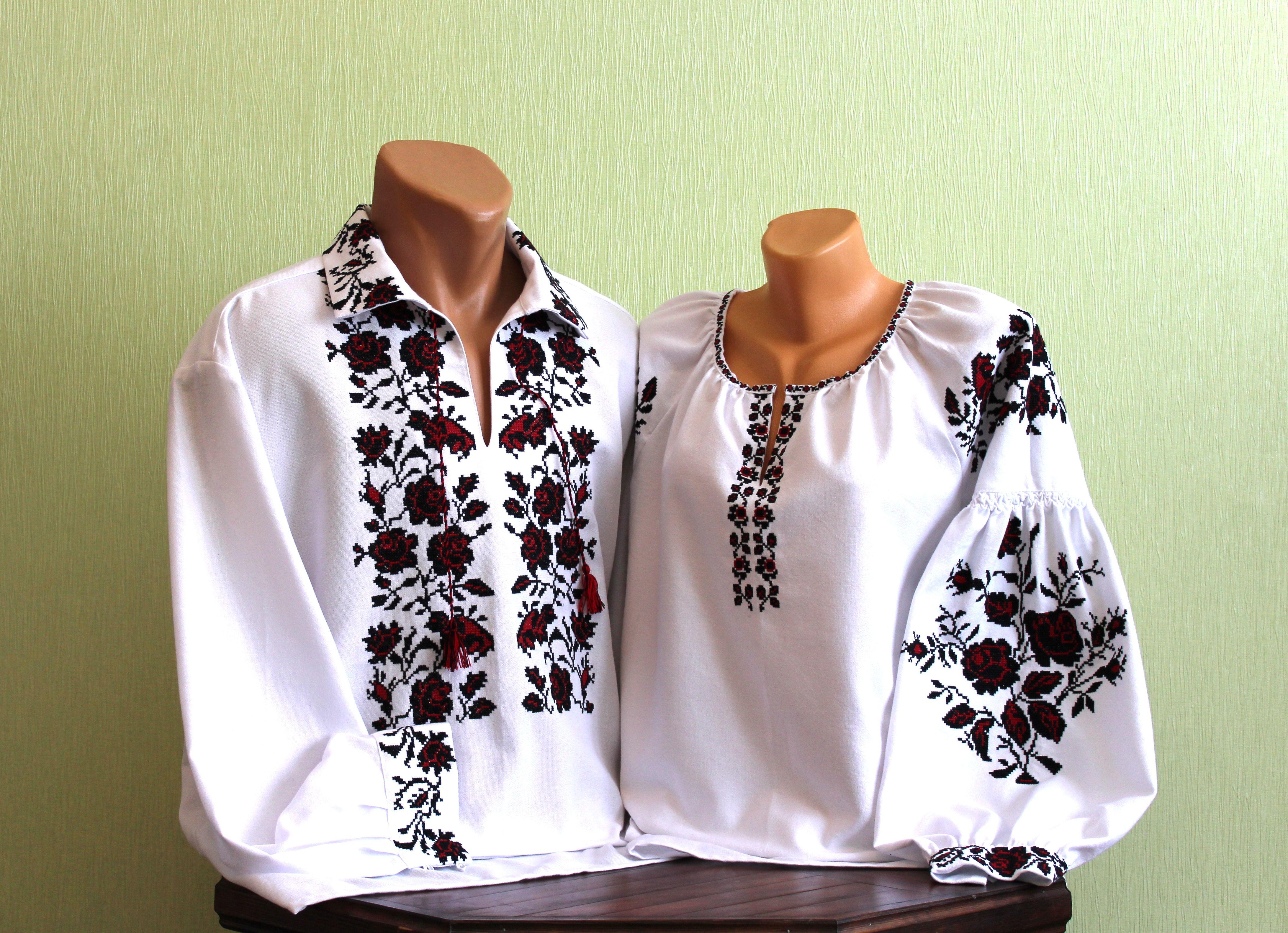 Чоловіча сорочка вишита старовинним українським узором ручної роботи ... a81bca81fc9a1