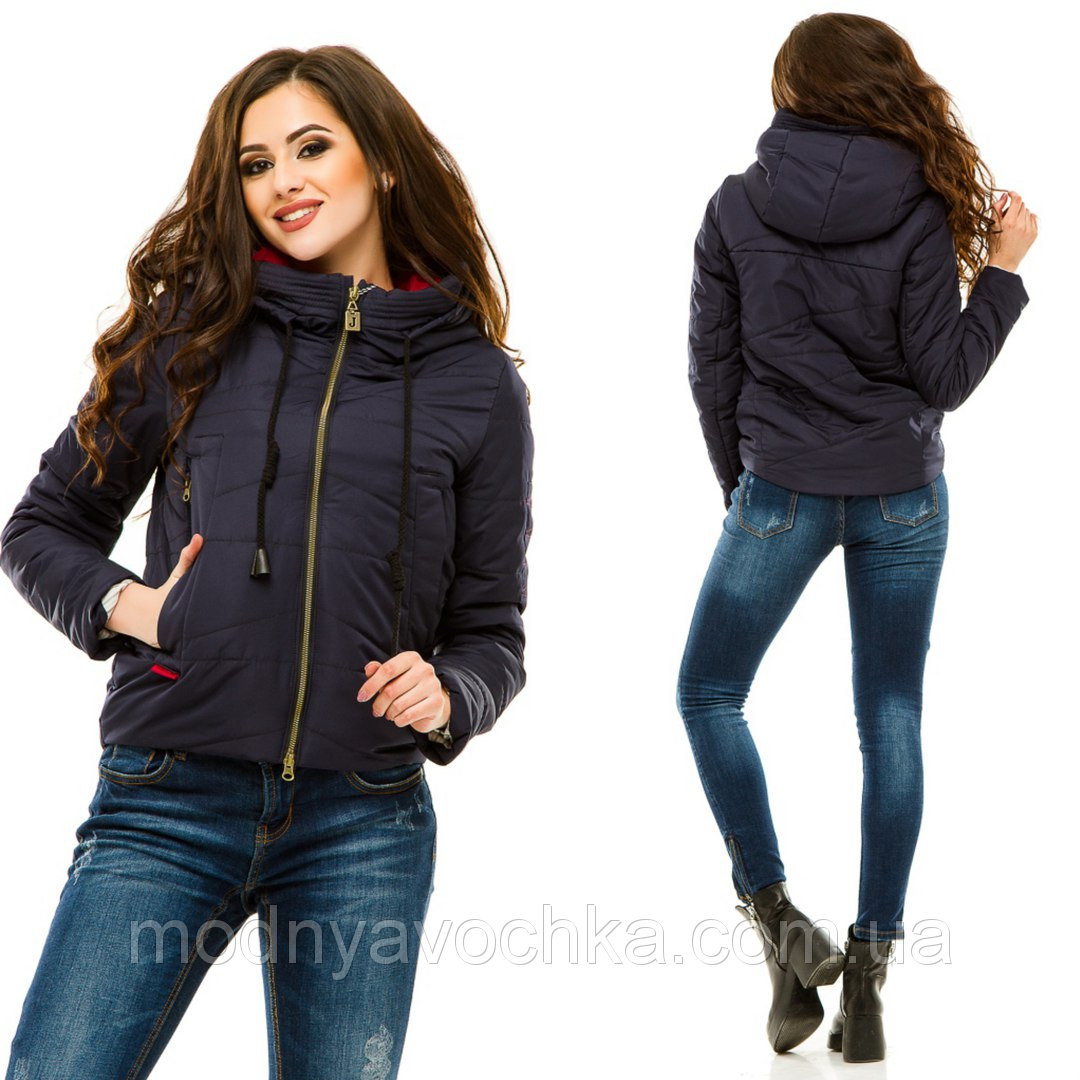 Укорочена куртка на весну - Товари - Інтернет-магазин
