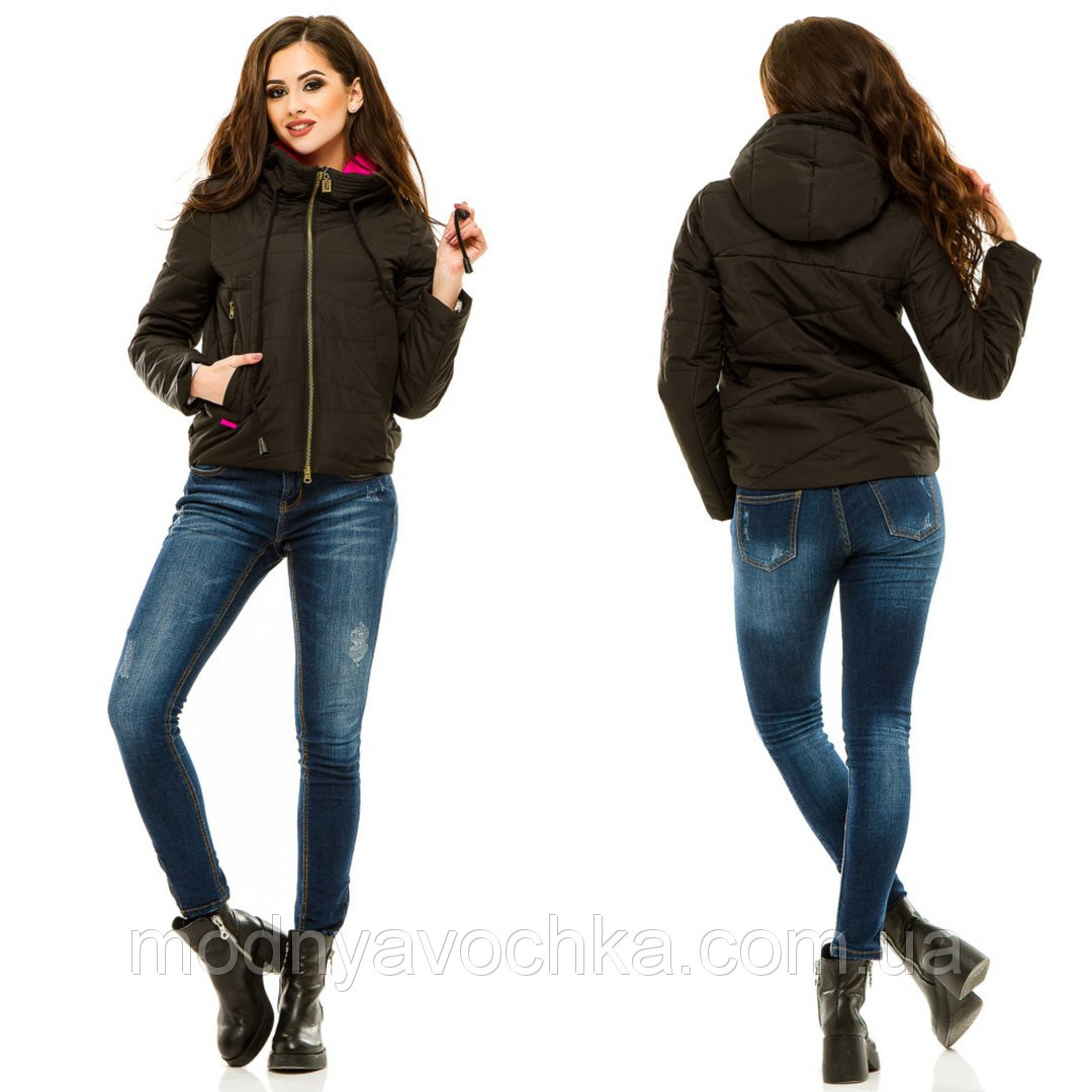 Демісезонна куртка з дорогою фурнітурою - Товари - Інтернет-магазин ... a64ab10504e6e