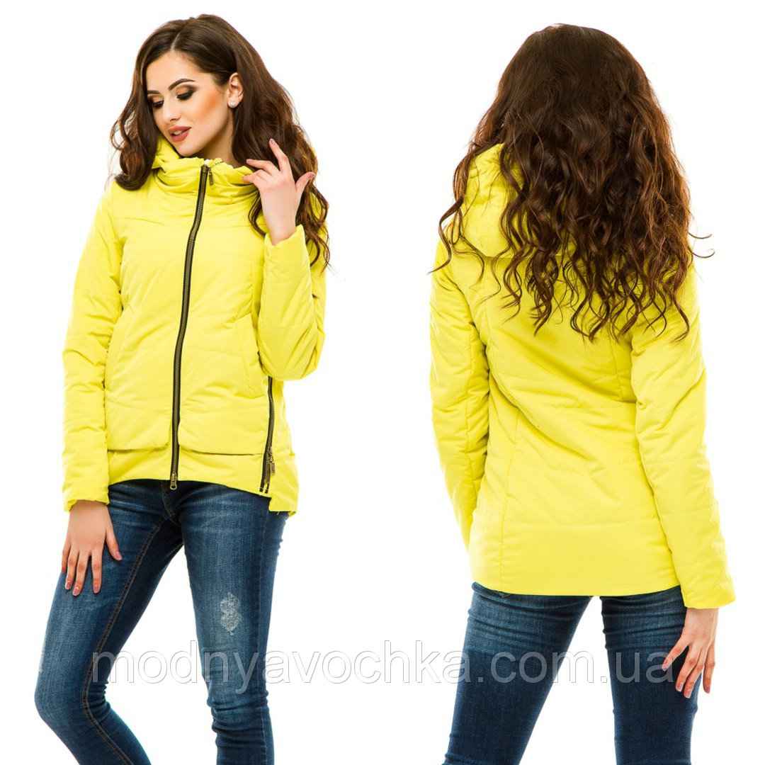 Жіноча демісезонна куртка 2017 - Товари - Інтернет-магазин ... 04c820cfc2c9a