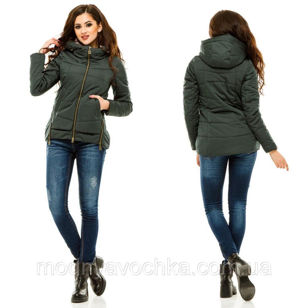 Практична куртка на весну з блискавками - Товари - Інтернет-магазин ... 75331db81f4e1