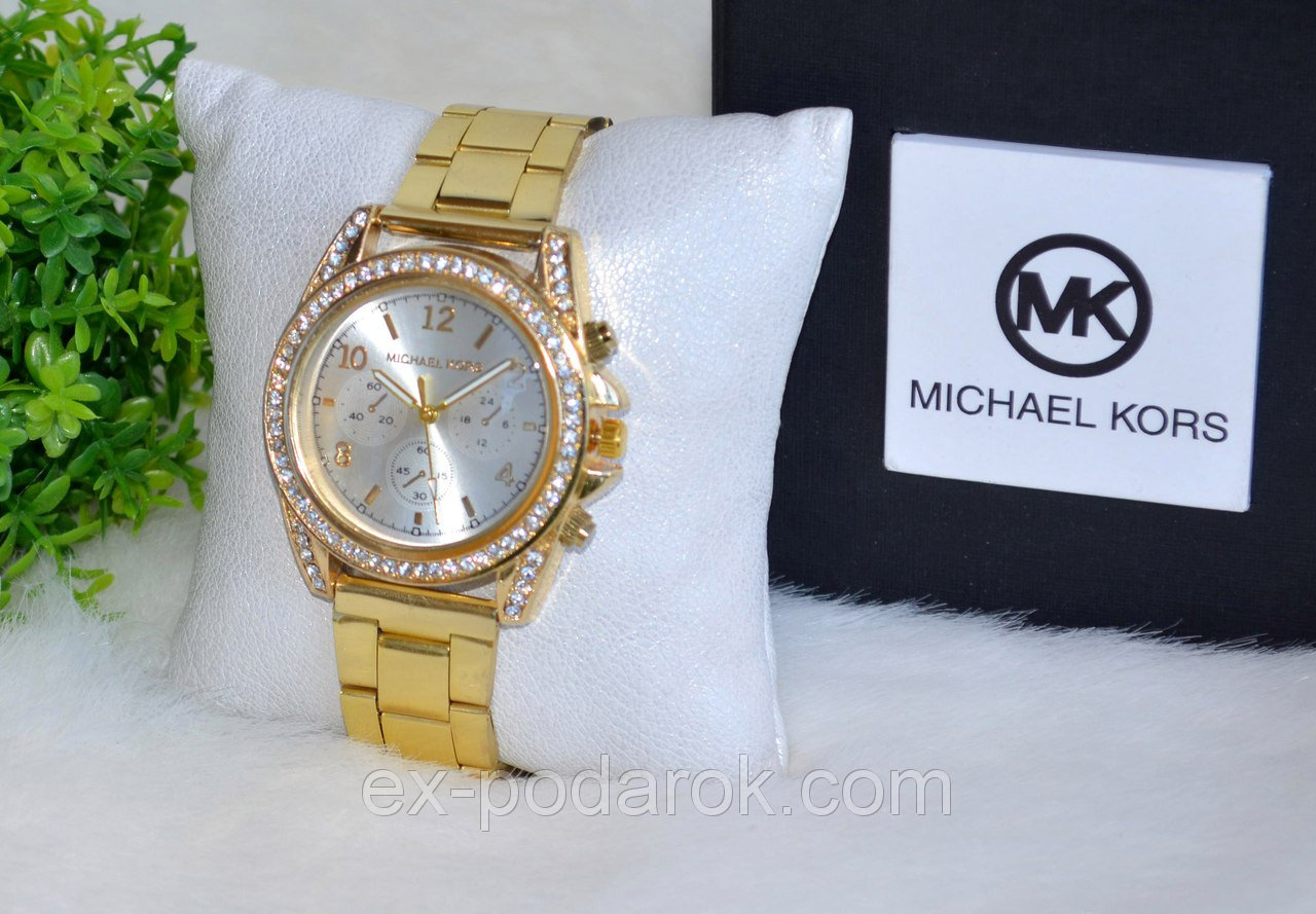часы michael kors женские со стразами покупкой