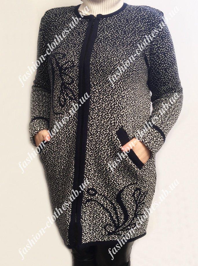 Жіночий кардиган великих розмірів - Товари - Купити стильні сукні ... 9afd748484a19