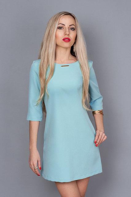 Плаття жіноче прямого покрою 237 - Товари - Купити стильні сукні ... 9f1fc9748cfec