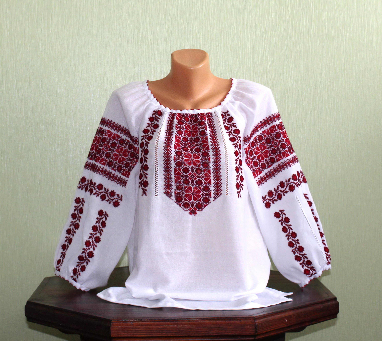 Вишита сорочка ручної роботи жіноча ціна 56903e09c8c63