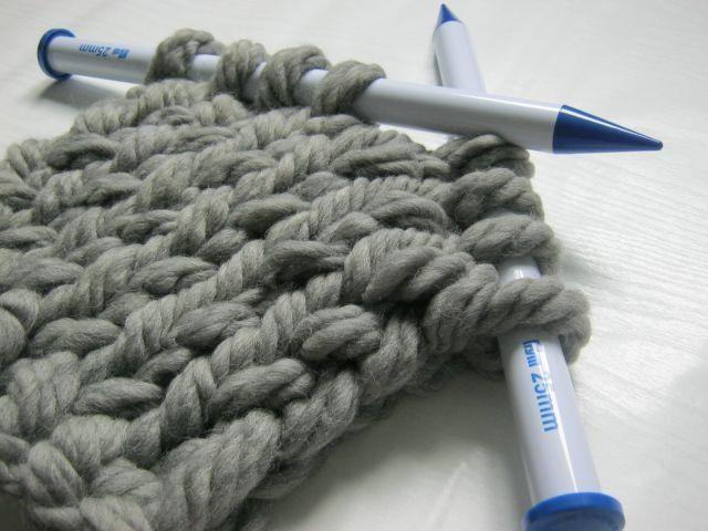 Вязание толстой пряжей для начинающих 61