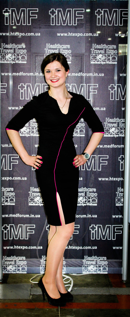 49d8050364baa1 Облягаюча сукня з асиметричнмм розрізом - Товари - Ателье - магазин ...