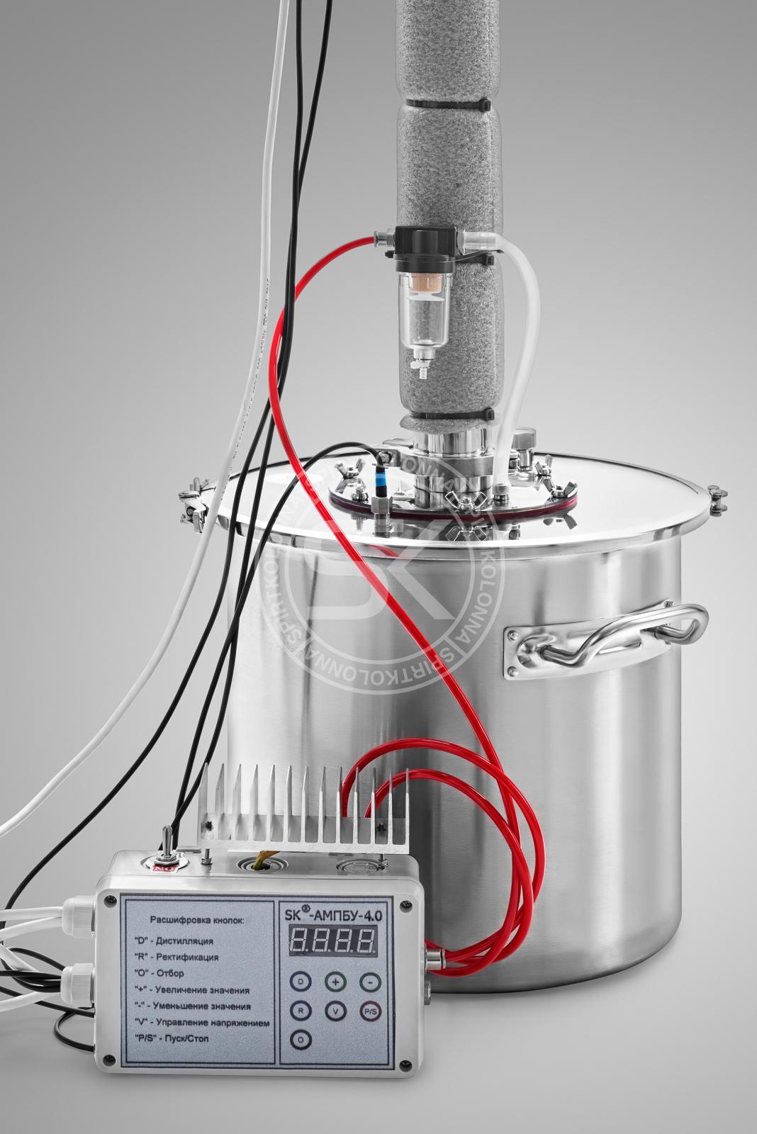 Ректификационный автоматический самогонный аппарат самый популярный самогонный аппарат