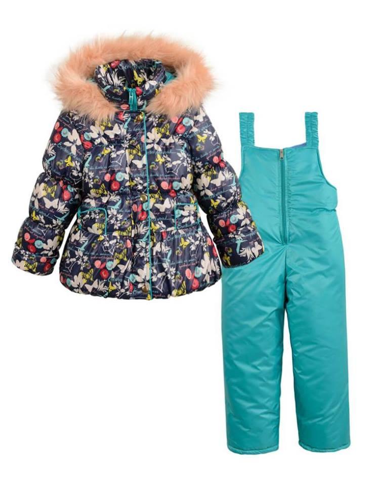 b957ec392a62ec Зимовий комбінезон для дівчинки - Товари - Купити стильні сукні ...