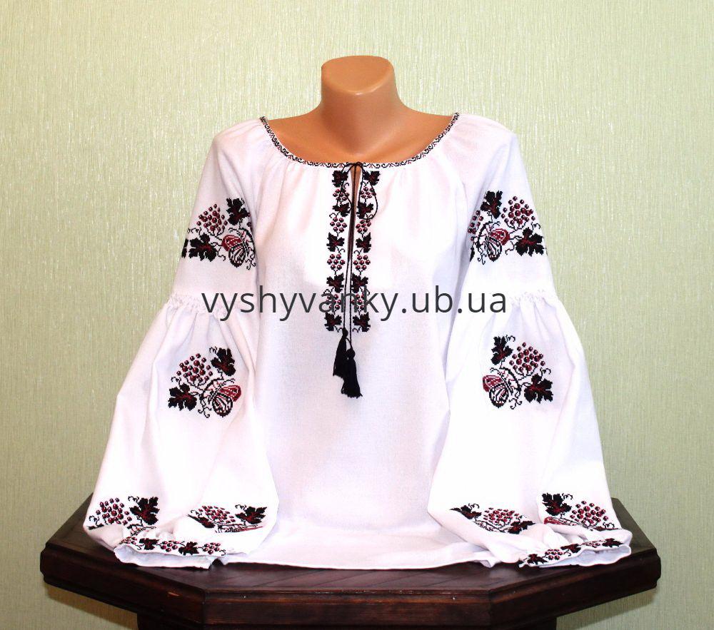 Сорочка жіноча вишита старовинним узором ручної роботи