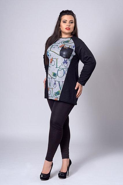 Жіноча туніка великого розміру 282 - Товари - Купити стильні сукні ... 4611d4bf1b24b