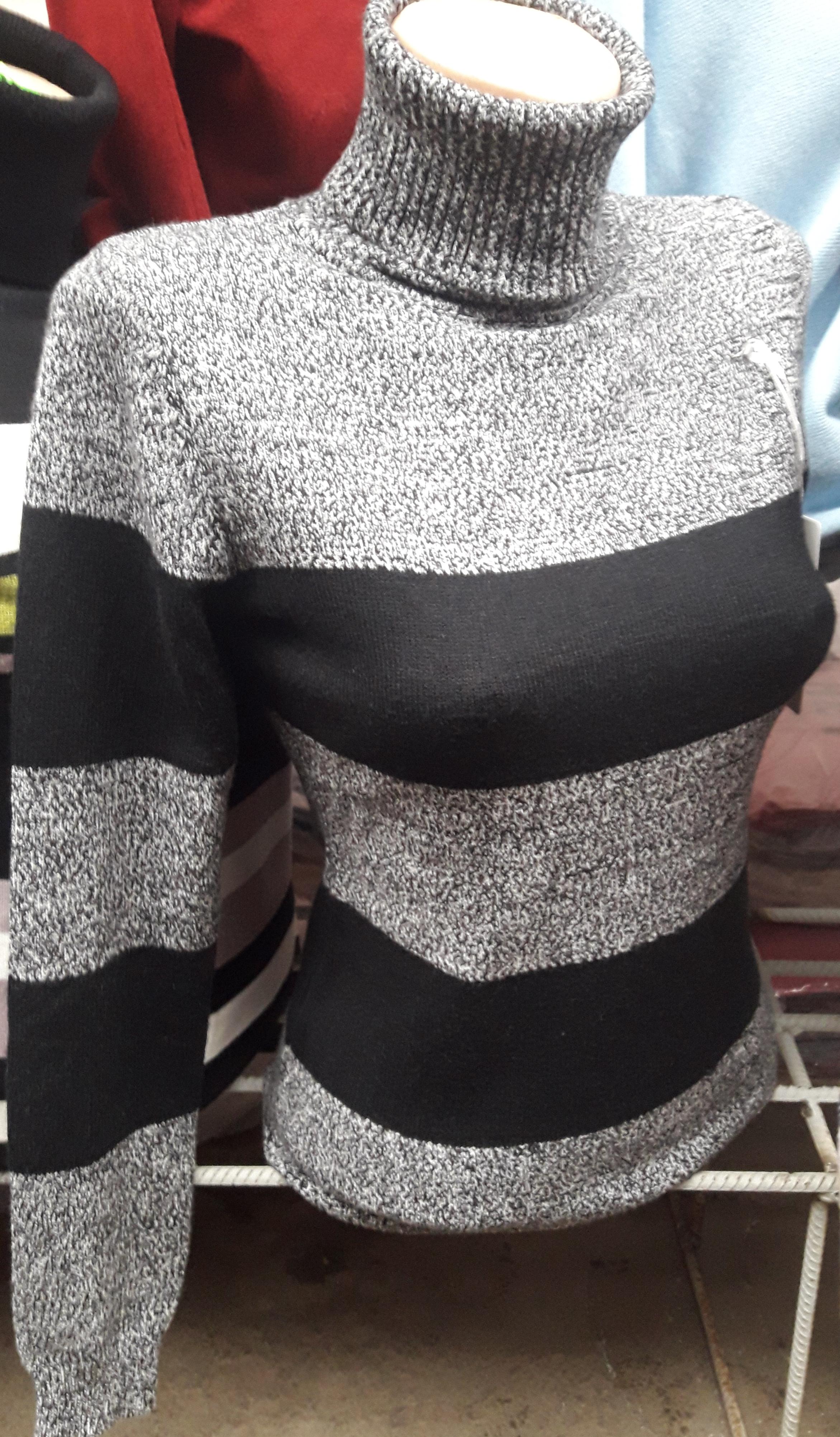 Женский теплый свитер 7a5c76283df22