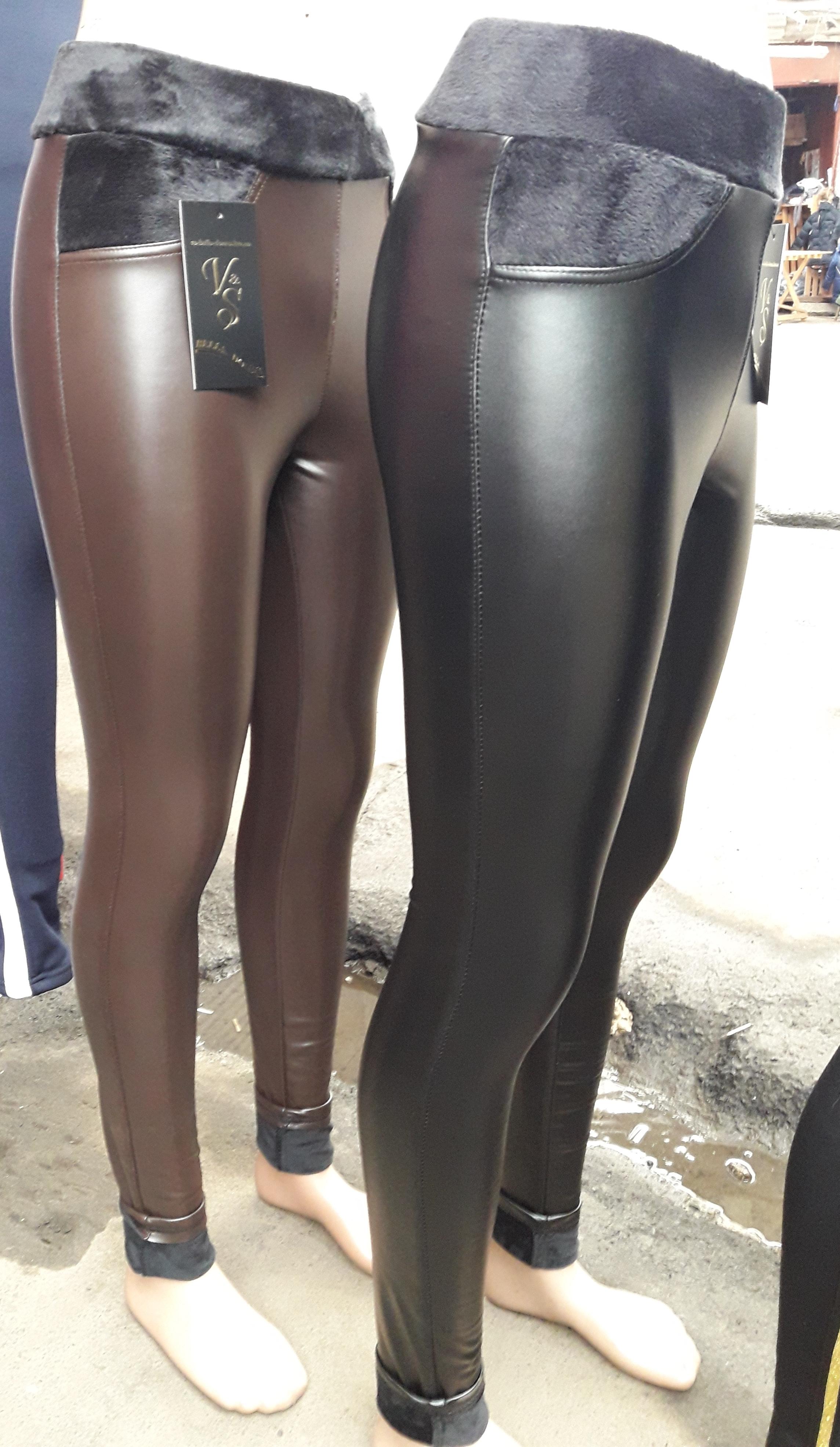 7cad148222441 Женские кожаные лосины на меху цена, купить. Женские кожаные лосины ...