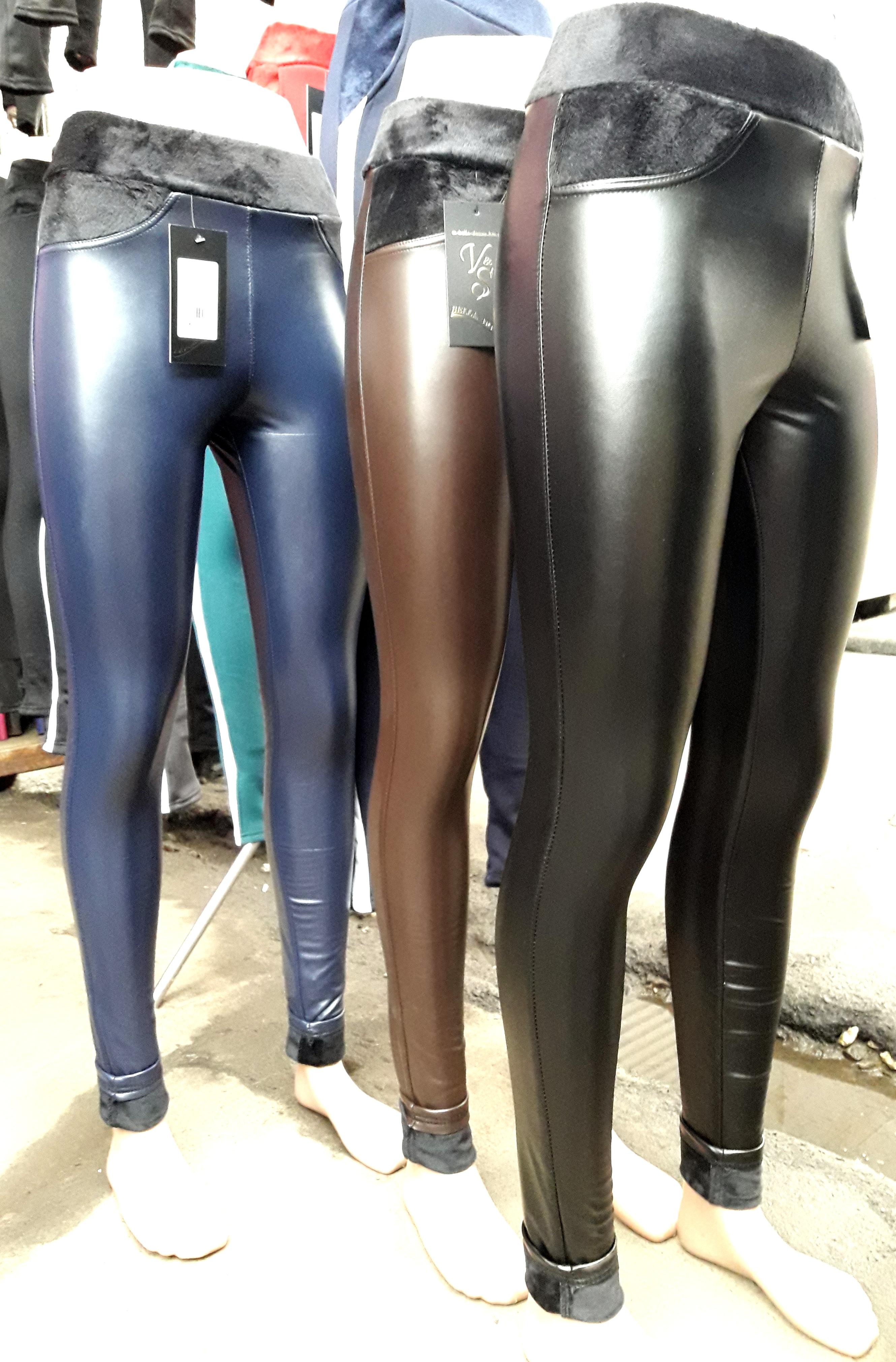 55d60091f1466 Женские кожаные лосины на меху цена, купить. Женские кожаные лосины ...
