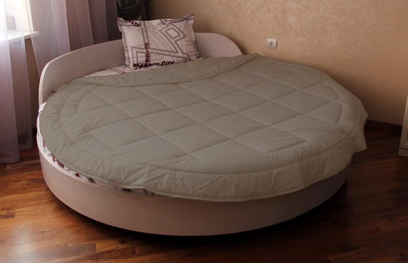 Покривало на кругле ліжко модель 2 Порох - Товари - Елітна постільна ... 189f6af95db69