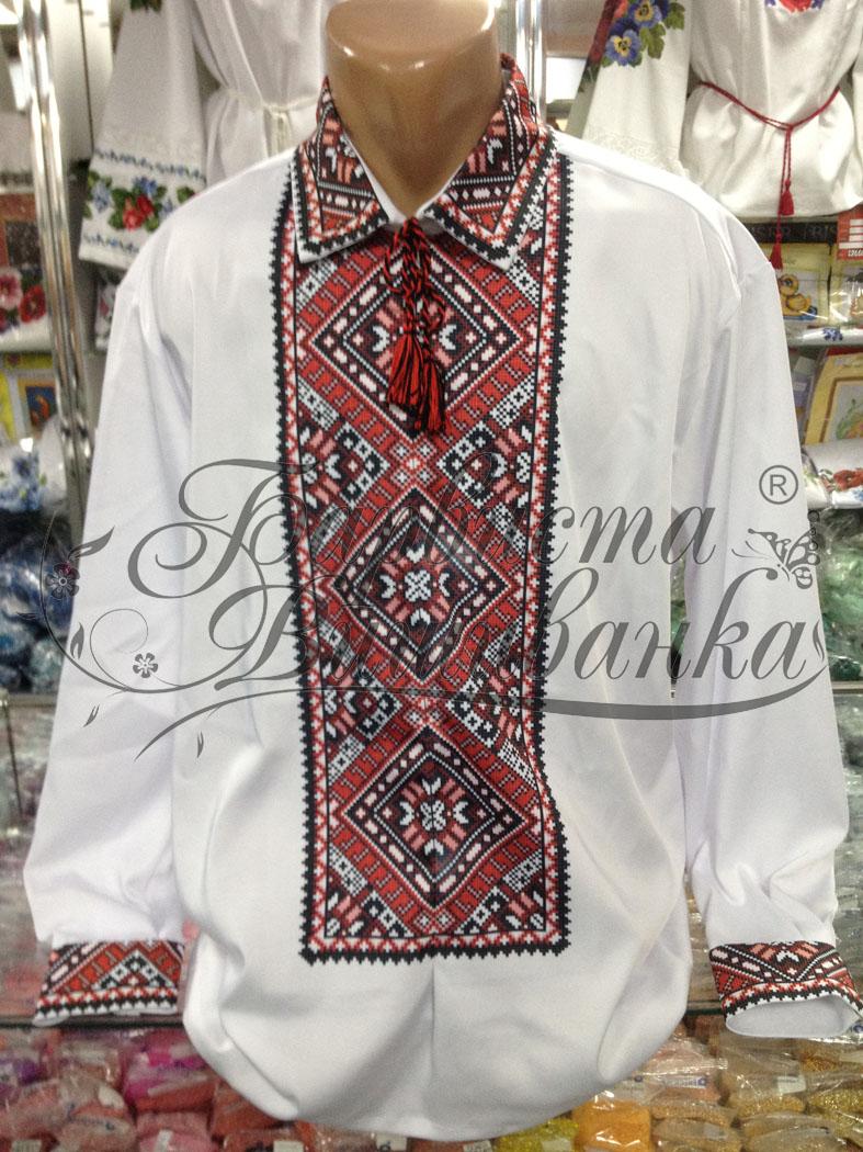 Заготовка для вишивки чоловічої сорочки СЧ - 10 - Товари - Схеми для ... b231b53eb25ec