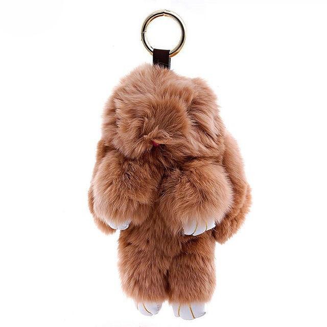 Брелок хутряний кролик бежевий - Товари - Дитячий одяг оптом ... 0e6a01470b3bf