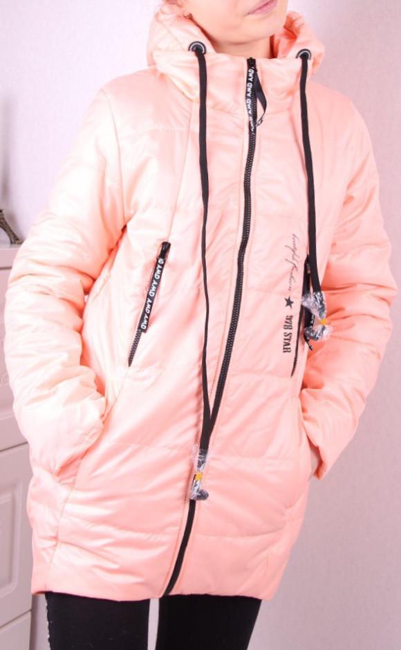 Дитяча демісезонна куртка з навушниками оптом 134-164 - Товари ... ccf7a7da64e99