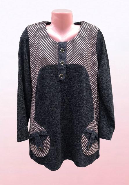 Жіноча туніка великого розміру 2772 - Товари - Купити стильні сукні ... 6a7ef8f79c00e