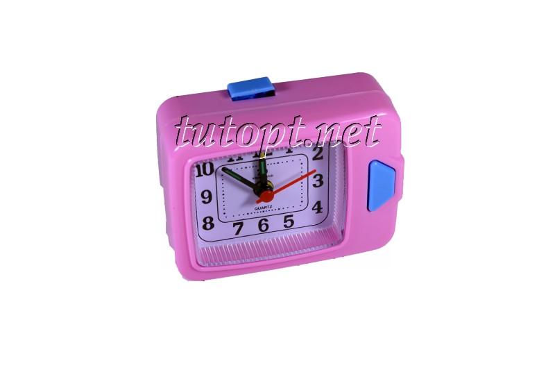 Годинник будильник QUARTZ з підсвічуванням на 1 R6